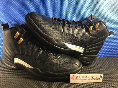 b5cac3bd455 Nike Air Jordan 12 Retro The Master Black White 130690 013 Size 8 No Box Top