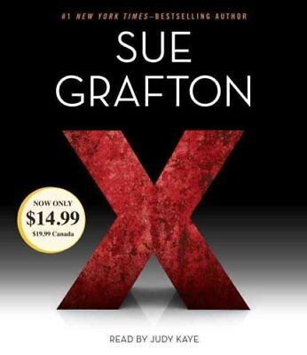 A Kinsey Millhone Novel: X 24 by Sue Grafton (2016, CD, Abridged)