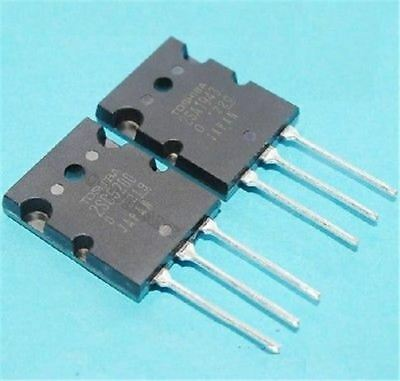 10Pair Power Transistor 2SA1943/2SC5200 Pnp US Stock s