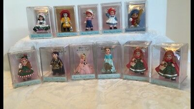 Hallmark Merry Miniatures Lot 11 Madame Alexander And Happy Hatters Collection