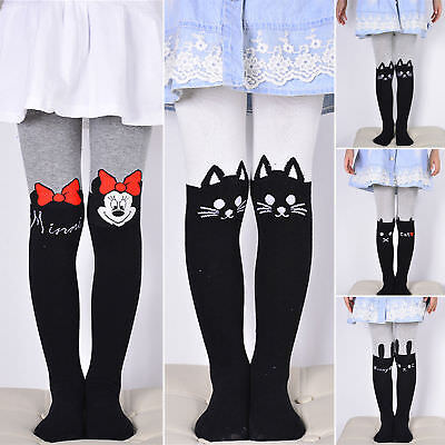 Baby Kids Girls Slim Cotton Tight Stockings Stretch Long Pants Hosiery Pantyhose