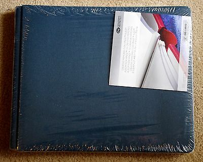 Creative Memories Peacock 10x12 landscape flex Hinge Album BNIP WITH PAGES