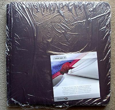 Creative Memories Brown Original 12x12 scrapbook album Coverset - Flex-hinge