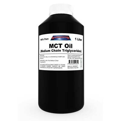 1L Mct Oil / Medium Chain Triglycerides Keto Ketogenic