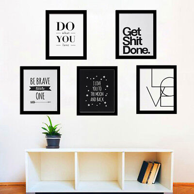 LETTERS CANVAS NO Framed Art Printed Painting Wall Pictures Poster ...