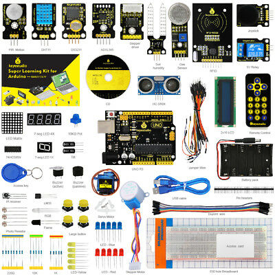 Keyestudio UNO R3 Super Starter RFID Learning Kit with Tutorial for arduino New