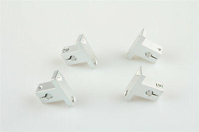 4Pcs CNC Linear Rail Support for Milling Machine SK10 10mm Bore Shaft End CZ