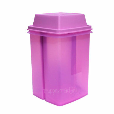 Tupperware Large Pick A Deli Beetroot Keeper Square Lilac Purple 2 litres NEW!