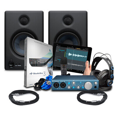 Presonus AudioBox iTwo Studio With Eris 4.5 (Pair) & Cables