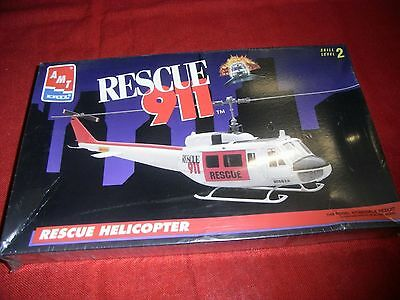 Amt® Ertl® 6400 1:48 Rescue 911™ Rescue Helicopter Neu Ovp