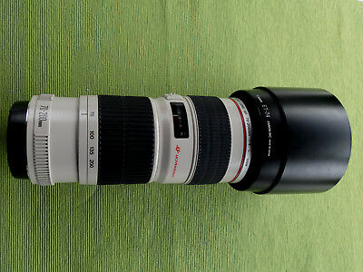 CANON ZOOM EF 70-200 mm f/4.0 L  USM