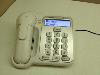 Philips LifeLine Emergency Alert System Cordless Phone Communicator Telephone