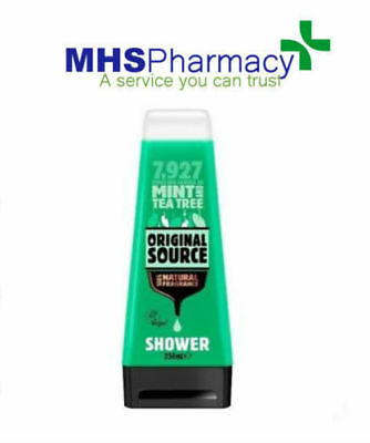 Original Source Mint And Tea Tree Shower Gel 250Ml Bottle 6 Pack