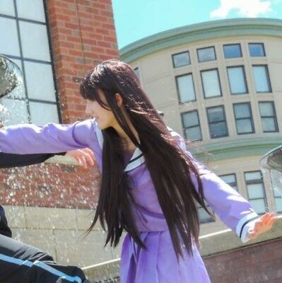 FULL Hiyori Iki Noragami Cosplay (WIG+TAIL+UNIFORM)