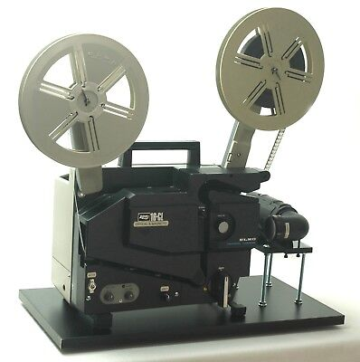 ELMO 16mm Optical & Magnetic Projector Video Transfer Built-In Full-HD Camera