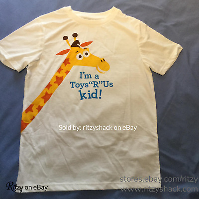 Toys R Us Rare I'm a TRU Kid Tee Shirt Vintage Geoffrey Collectible HARD TO FIND