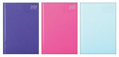 2020 Diary A4/A5 Pastel Colour Fashion Diary Week to View/Day A Page Desk Diary