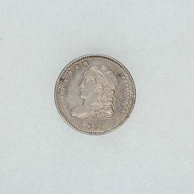 1831 Capped Bust Half Dime 5C Choice Au About Uncirculated (5291)