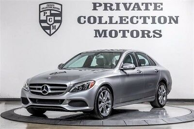 2015 Mercedes-Benz C-Class  2015 Mercedes-Benz C300 1 Owner Clean Carfax Highly Optioned