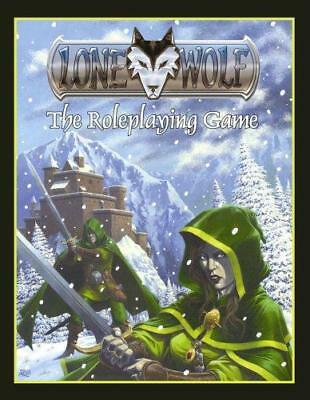 Lone Wolf: The Roleplaying Game, Hahn, August, Good Condition Book, ISBN 9781904