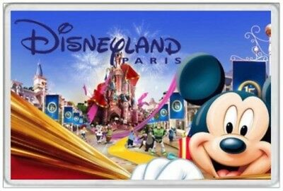Jumbo Fridge Magnet - Disneyland Paris France  Souvenir Tourism Travel