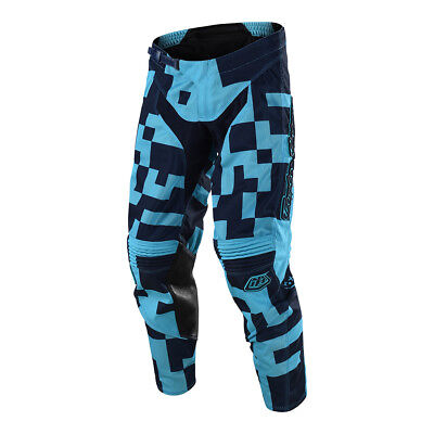 Troy Lee Designs GP Air Maze Mens MX Offroad Pants Turquoise/Navy