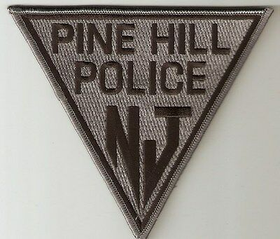 Pine Hill Nj Police Subdued Wedge Shape Swat Team Ppd Pd Hpd Sert Tact