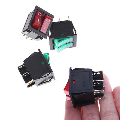 KCD3 Double Boat Rocker Switch 6 Pin On-Off G0