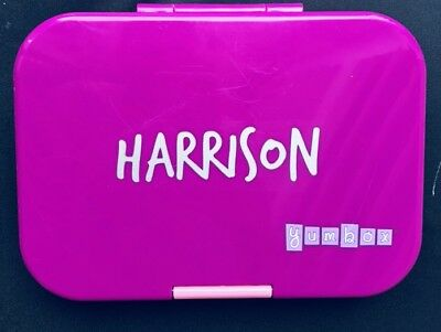 Personalised Yumbox/Lunchbox/Bento Box Name Label