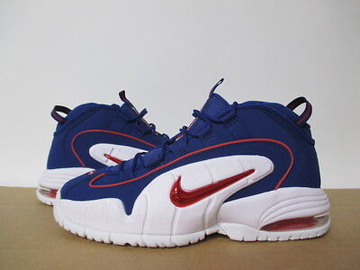 half off 66a57 80a21 685153 400 Nike Air Max Penny Deep Royal Blue Gym Red White 8-13