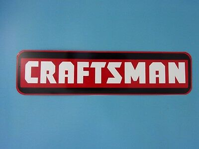 Craftsman Aluminum Sign Tools Toolbox Man Cave USA Made