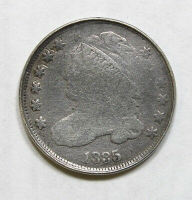 1835 Capped Bust Dime Silver Coin #3
