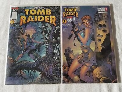 Lara Croft Tomb Raider Top Cow Productions Comic Lot 1st Editions Rare