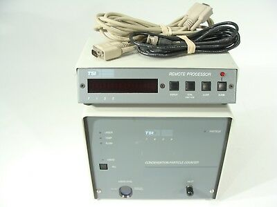 TSI / PMS 7620 7620B Laser Condensation Particle Counter + 7120 Remote Processor