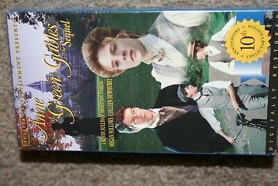 Rare Vintage Anne Of Green Gables The Sequel Vhs Movie! Sealed 10Th Collectors