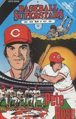 Baseball Superstars Comics #4 1992 FN Stock Image