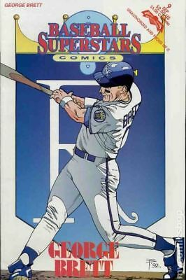 Baseball Superstars Comics #9 1992 FN Stock Image