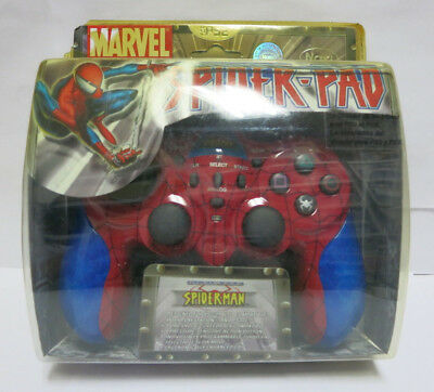 Controller Sony Playstation 2 PS2 PS1 Dual Shock 2 Marvel Spider-Pad SpiderMan