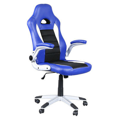 PU Leather Executive Computer Chair Gaming Racing Chair Home Office Desk Seat