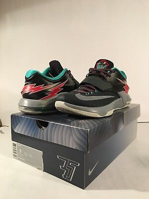 detailed pictures 003aa 8472f ... australia nike mens kd 7 vii thunderbolt flight kevin durant size 9 mens  653996 005 41877