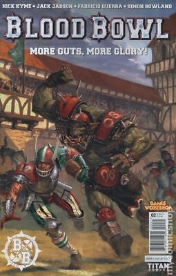 Blood Bowl More Guts More Glory (Titan) #2C 2017 VF Stock Image