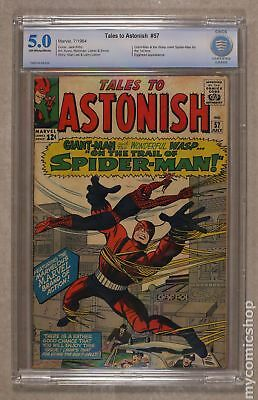 Tales to Astonish (1st Series) #57 1964 CBCS 5.0