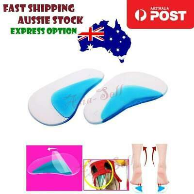 Orthotic Arch Supports Insoles Flat Foot Flatfoot Corrector Shoe Silicone Insert