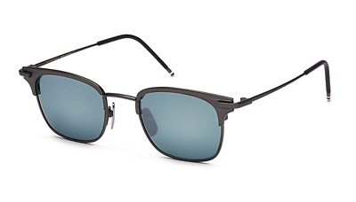 4ab32584a17 AUTHENTIC THOM BROWNE TB-102-C-T-NVY-GLD-49 Sunglasses Navy Blue ...