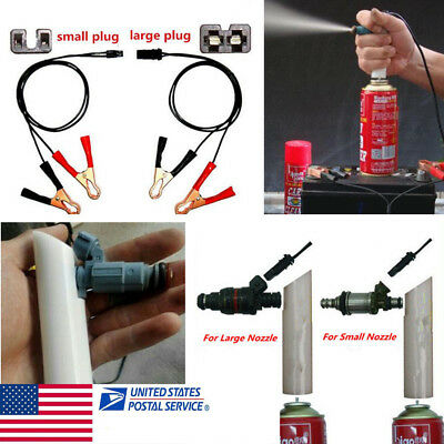 DIY Car Fuel Injector Flush Cleaner Adapter Kit Set Vehicle Cleaners Tool