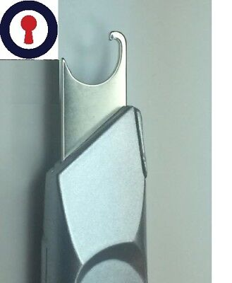Locksmith tool Circlip remover Euro, Oval and Rim Cylinders 1st P&P