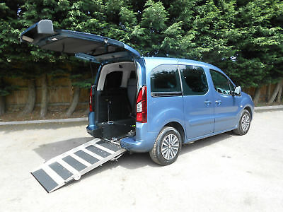 2013 Peugeot Partner 1.6 HDi Tepee Automatic Wheelchair Accessible Vehicle.