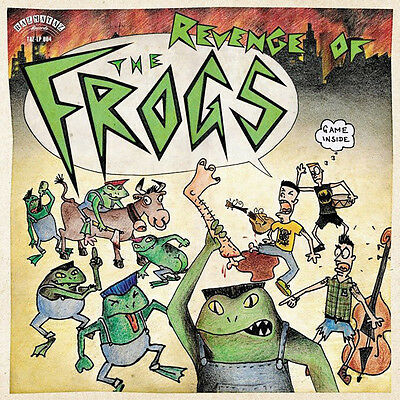 THE FROGS - REVENGE OF... LP Psychobilly Rockabilly Rock'n'Roll Punk GAME INSIDE