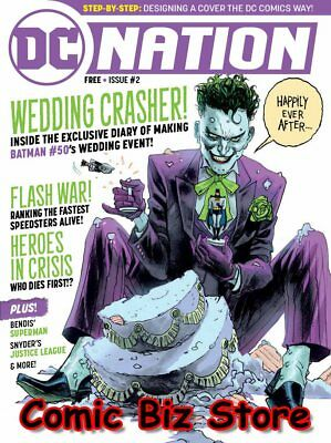 Dc Nation #2 (2018) 1St Printing Dc Universe Batman #50, Flash War And More!