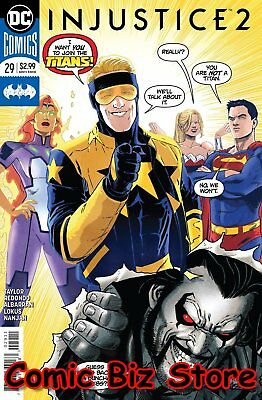 Injustice 2 #29 (2018) 1St Printing Dc Comics Bagged & Boarded